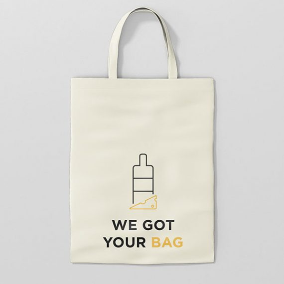 Katoenen tas mock-up We Got Your Bag