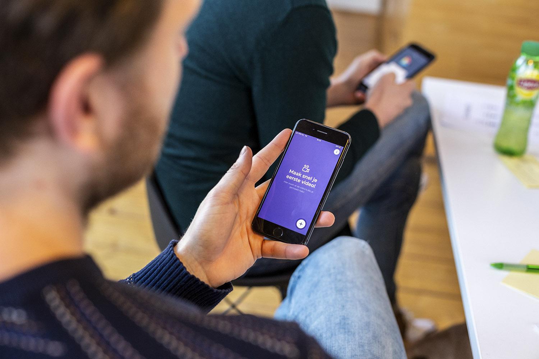 Vormats video app mobile